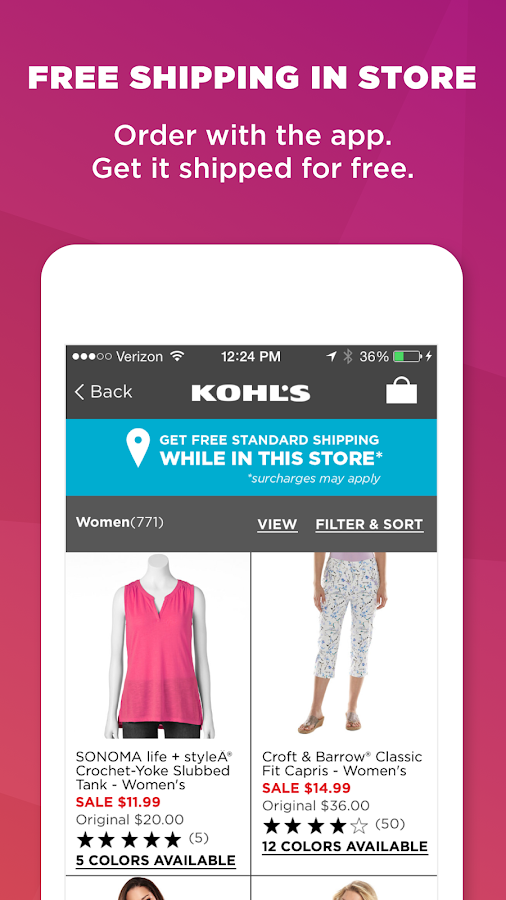 Kohl's: Scan, Shop, Pay & Save- screenshot