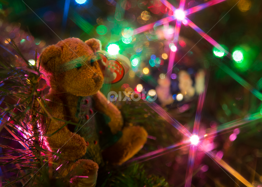 X-Mas Beenie by Andy Taber - Artistic Objects Toys ( , holiday lights )
