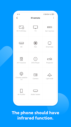 Mi Remote controller - for TV, STB, AC and more 5.8.5.8G screenshots 1