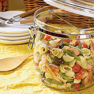 Salmon Niçoise Pasta Salad