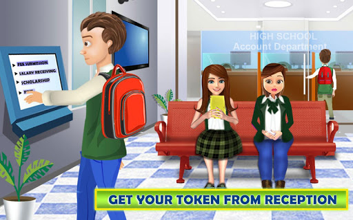 High School Cash Register: Cashier Games For Girls for PC
