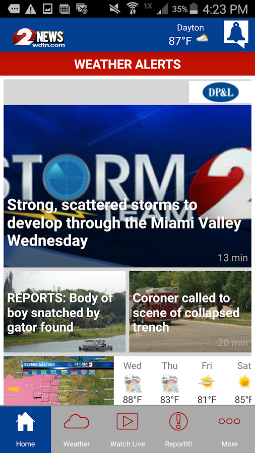 WDTN 2 News- screenshot