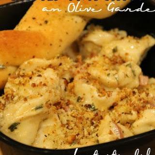 Parmesan Crusted Prosciutto Tortellini