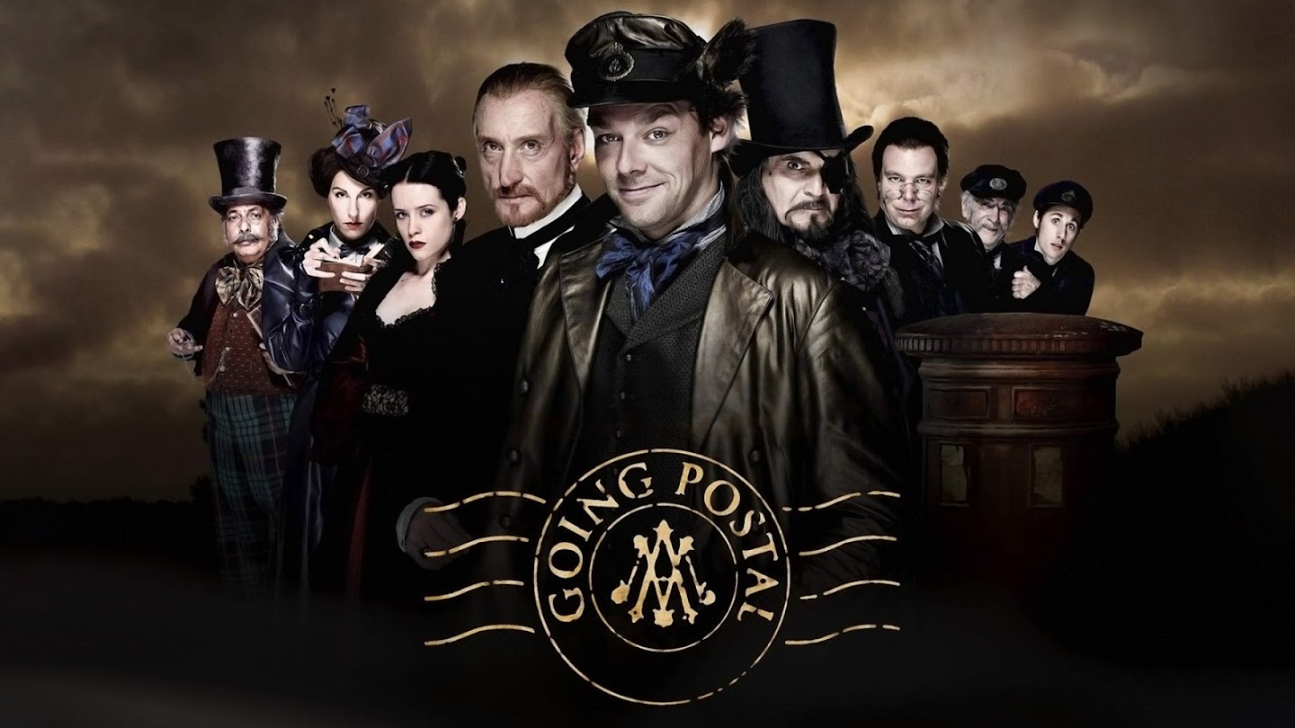 Watch Going Postal live