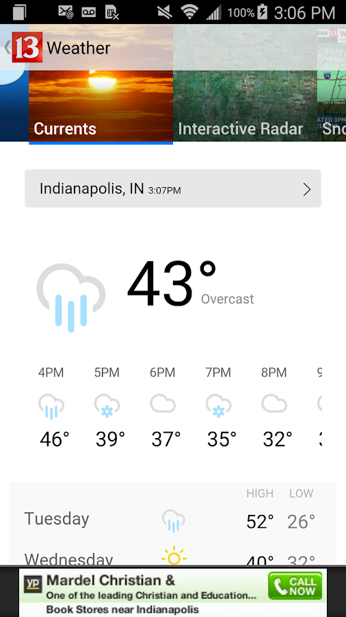 WTHR- screenshot