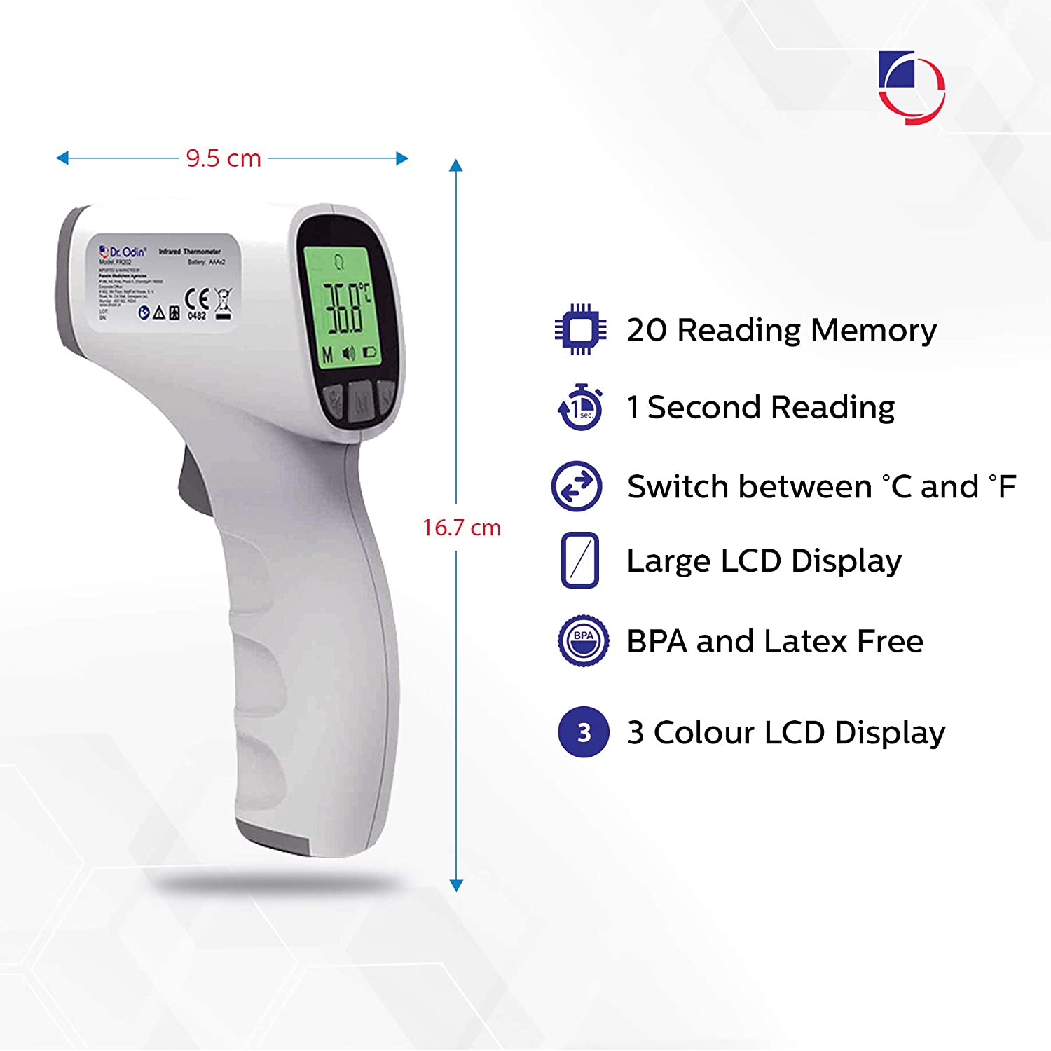 Best Non Contact Infrared Thermometer in India 2020