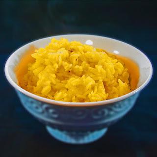 Saffron Jasmine Rice.