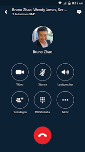 Skype for Business for Android Screenshot