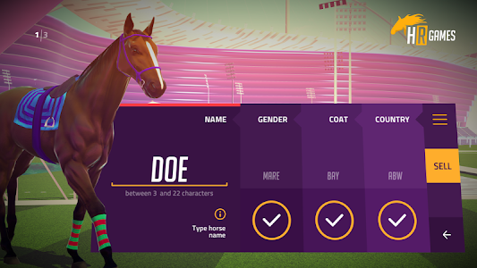Racing Horse Customize Tuning screenshot 6