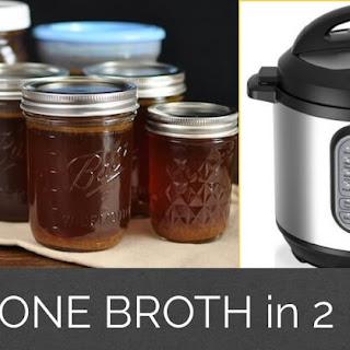 Instant Pot Bone Broth.