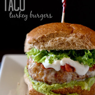 Taco Turkey Burger