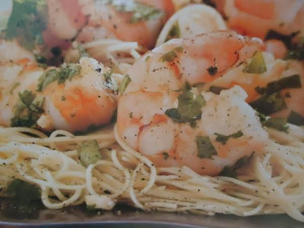 Norma's Cilantro-garlic Shrimp