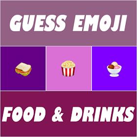 Guess Emoji : Food and Drinks