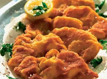 Schnitzel - Thin Breaded German Pork Chops