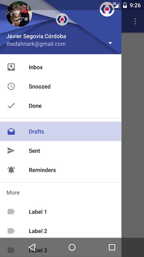 Material Design Calendar Github : Da material design nav drawer android apps on google play