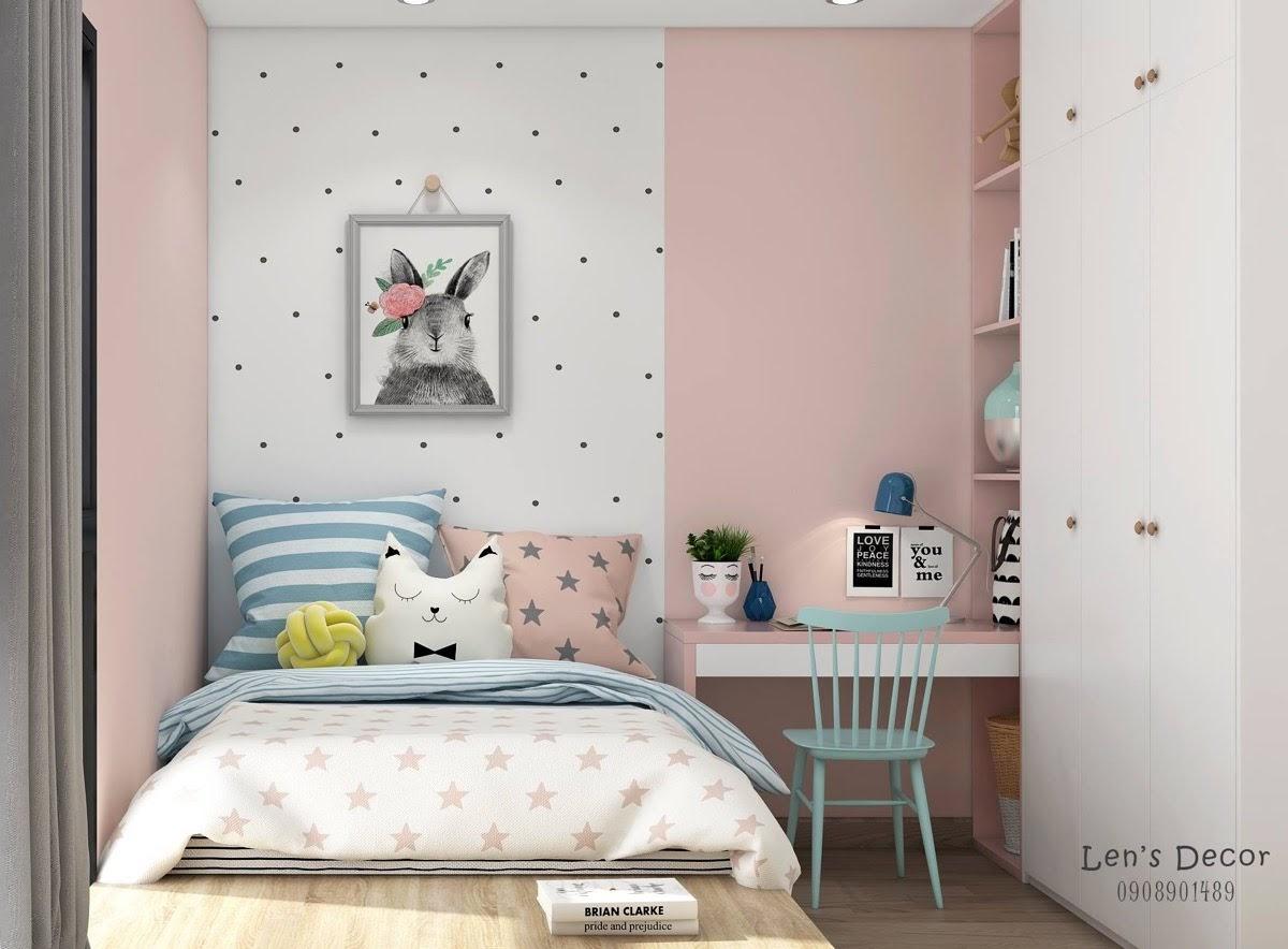 40 Koleksi Bilik Tidur Kanak Dengan Warna Pastel Lembut