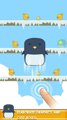 android Penguin! Go Jump Screenshot 0