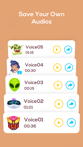 Voice Changer Voice Recorder - Editor & Effect 2.0 screenshots 9
