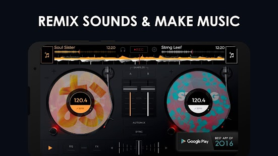 edjing Mix - Free Music DJ app Screenshot