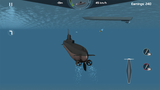 Submarine Simulator : Naval Warfare MOD (Unlimited Money) 5