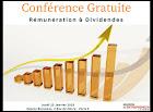 rémunération conférence