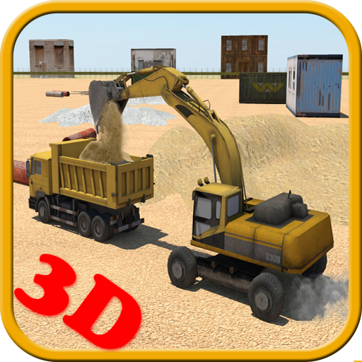 重い掘削機の3D 模擬 App LOGO-硬是要APP