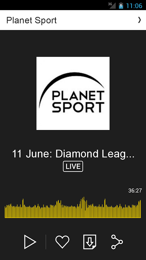 Planet Sport- screenshot