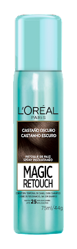 MAGIC RETOUCH CASTAÑO   SPRAY X 75 ML