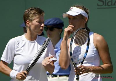 Ook Elise Mertens uitgeschakeld in dubbelspelop Wimbledon