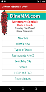 DineNM Restaurant Deals- screenshot thumbnail