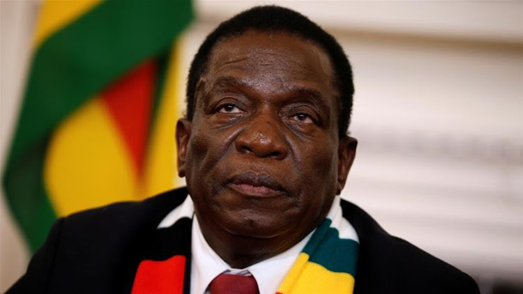 Mnangagwa was declared the winner of the July 30 vote with 50.8 percent of the vote
