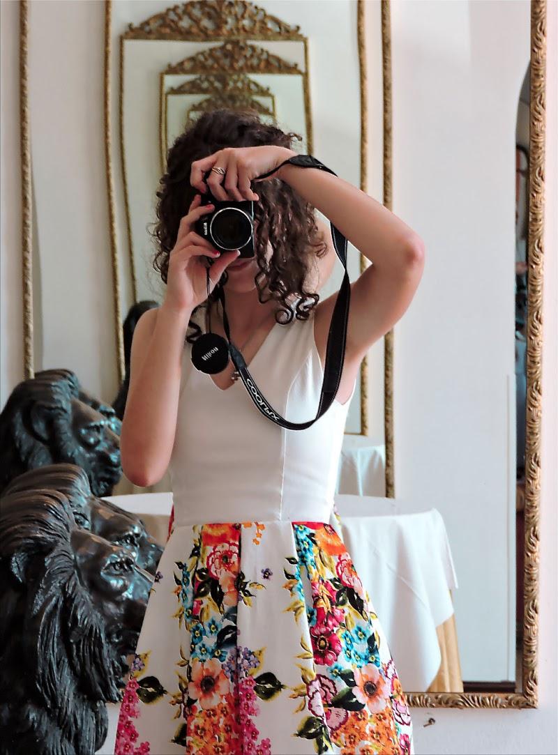 Riflessi di giovane fotografa di BeaB