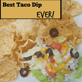 Best Taco Dip Recipe EVER! Recipe