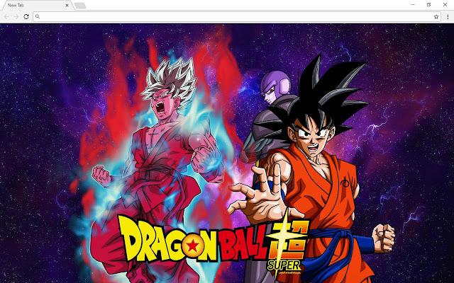 Dragon Ball Super New Tab Page