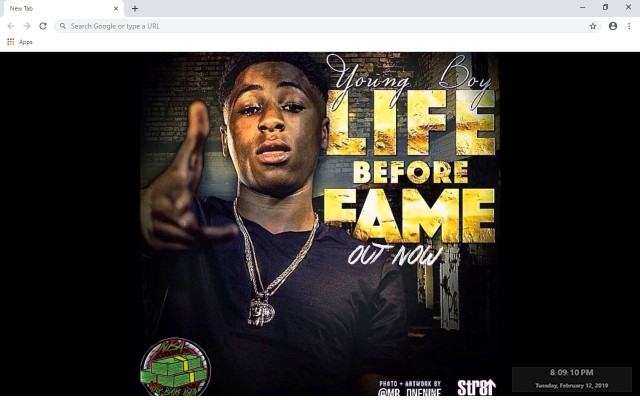 NBA YoungBoy New Tab & Wallpapers Collection