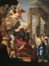 Photo: Sébastien Bourdon - Le Sacrifice d'Iphigénie - 142.5x110.5 Orléans - musée des Beaux-Arts