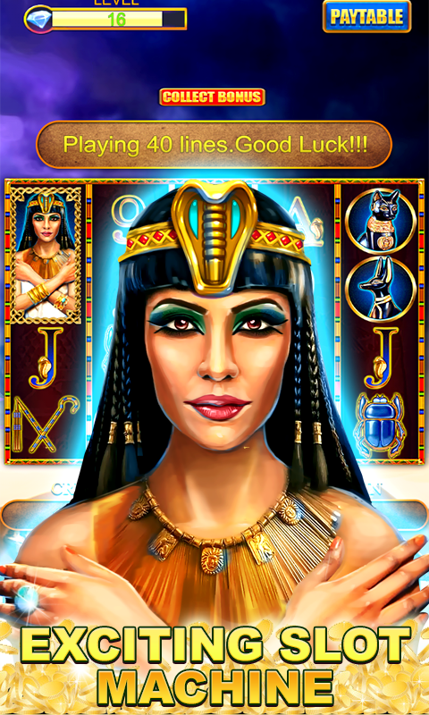 Play the exciting Cleopatra slot at Casumo