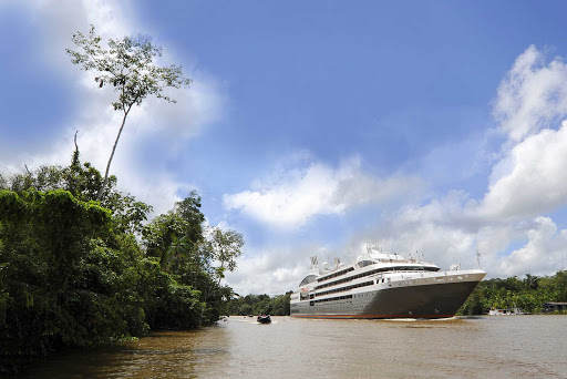 Ponant-Brazil-Amazon.jpg - Enjoy the natural wonders of the Amazon on the upcoming Ponant ship Le Champlain.