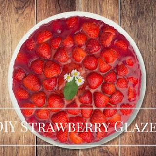 DIY Strawberry Glaze