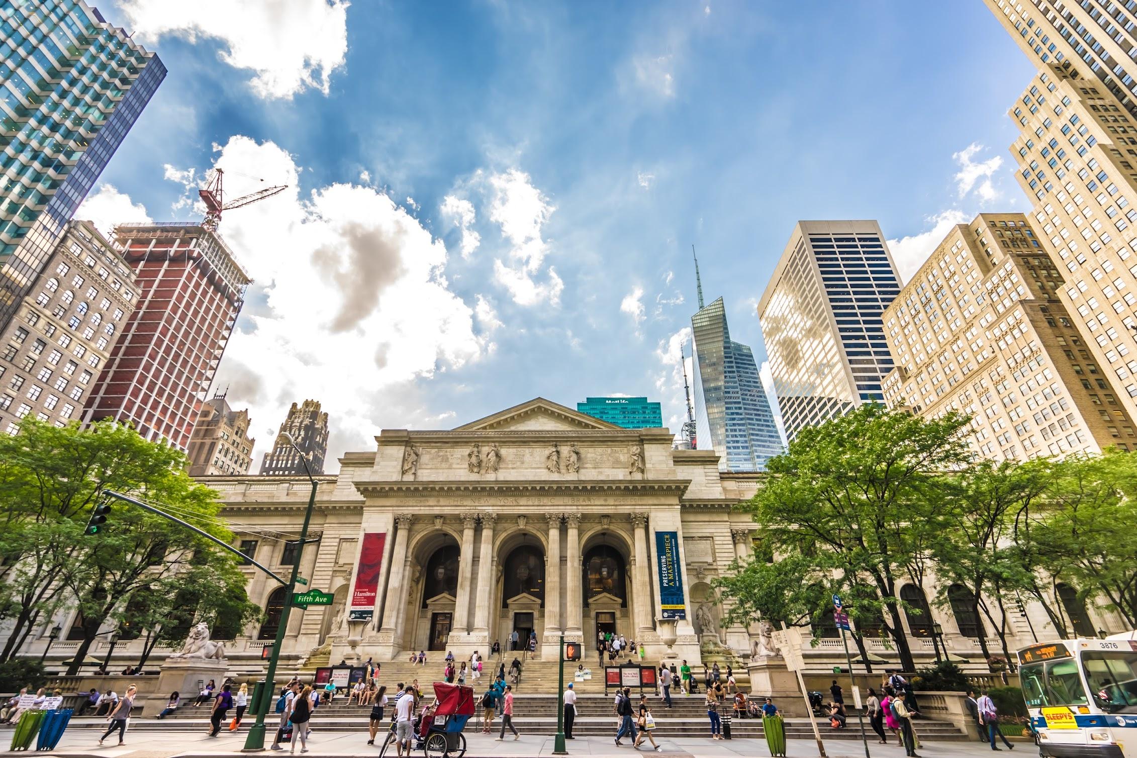 ニューヨーク公立図書館(The New York Public Library)1