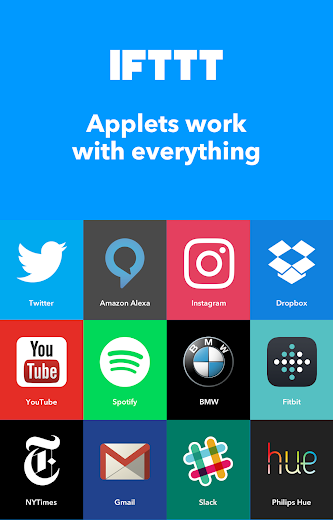 Screenshot 7 for IFTTT's Android app'