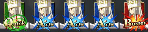 アイリスフィール(天の衣)_コマンドカード