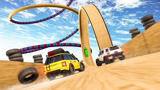 Mega Ramps - Ultimate Races apkpoly screenshots 4