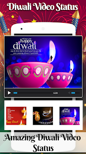 Video Status 2017 for Diwali - náhled