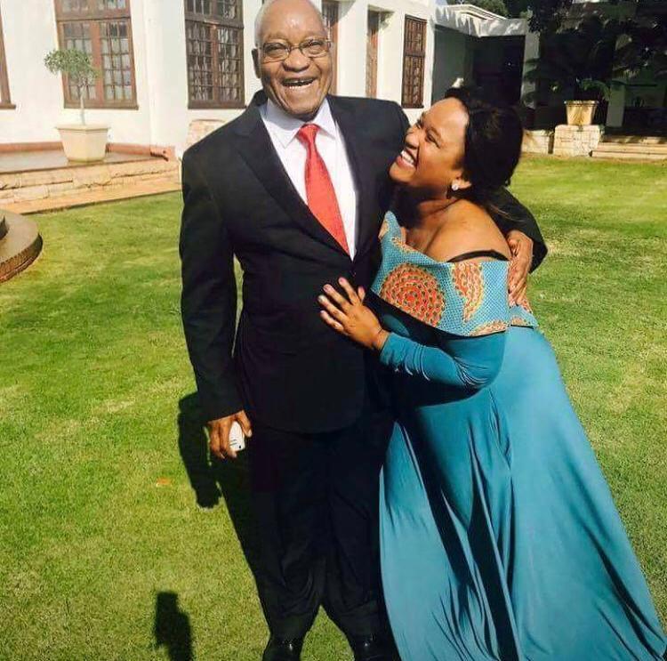 Former president Jacob Zuma was present at his daughter Brumelda Zuma's graduation at the University of Zululand on Thursday