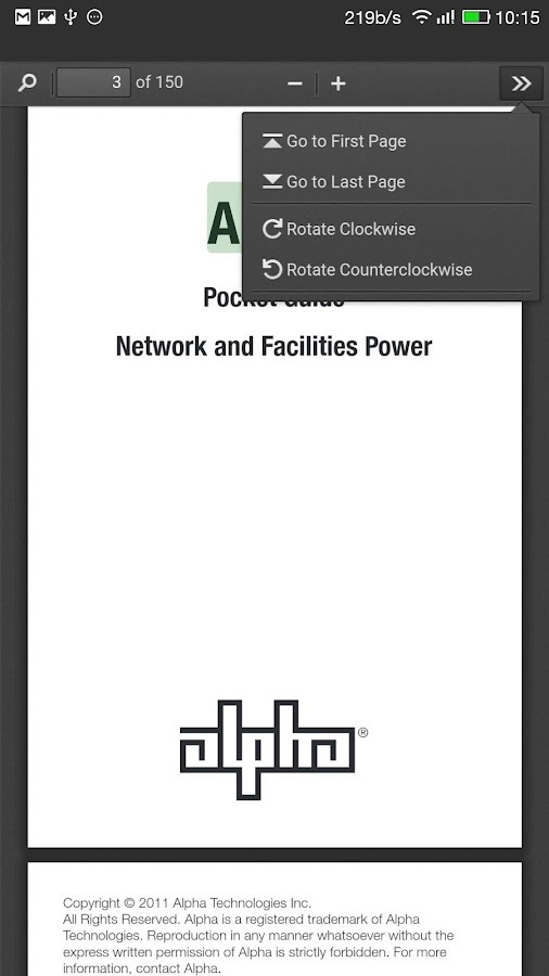 Alpha Guide - Network Power- screenshot