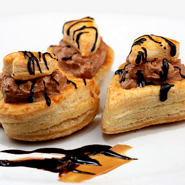 Homemade Puff Pastry and Vols-Au-Vent Recipe