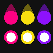 Color Swipe Dots - Color Game