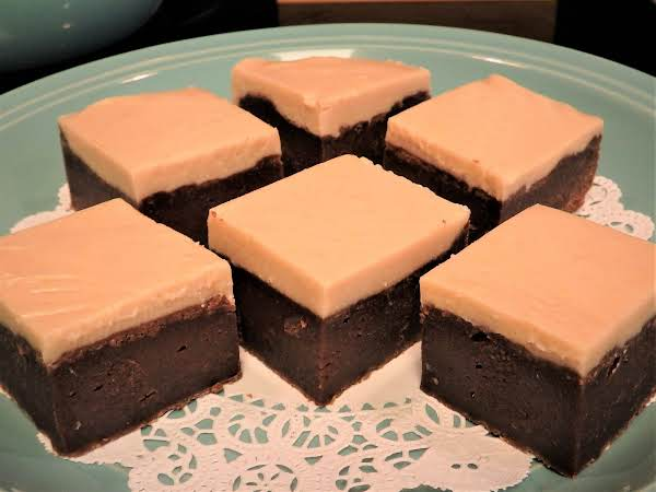 Kahlua Brownies With Kahlua Buttercream Frosting