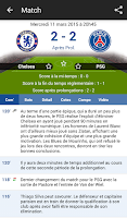 Screenshot of Résultats Foot en Direct